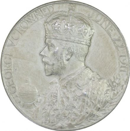 1911 George V Coronation Medallion